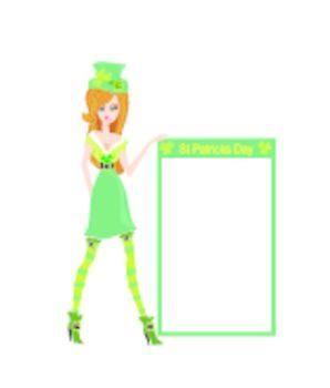 sexy leprechaun girl
