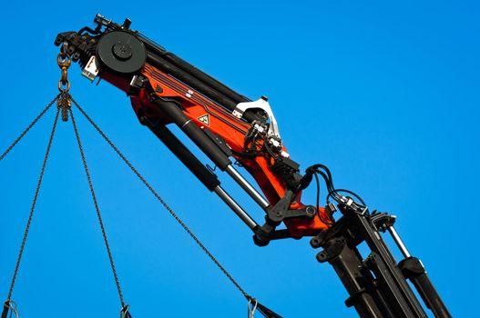 Pneumatic industrial crane