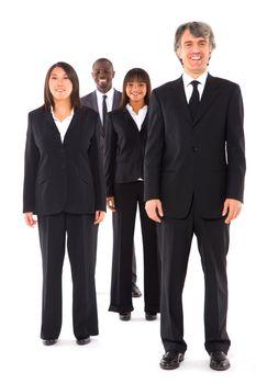 multi-ethnic team