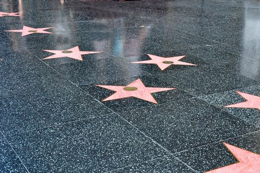 Stars on the Hollywood Walk of Fame