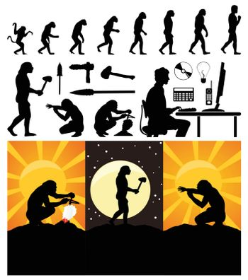 Evolution of the person