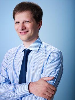 portrait of confident adult businessman