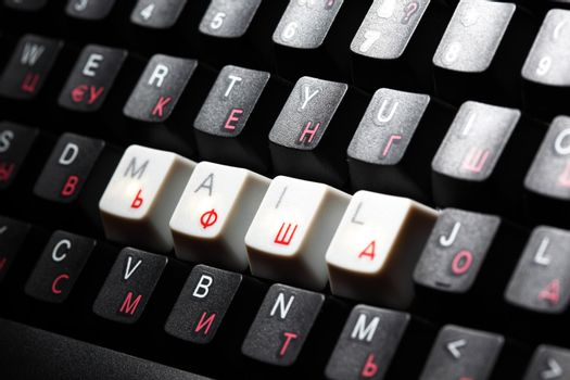 keyboard mail key