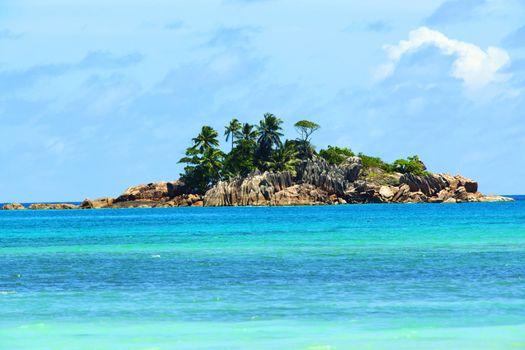 Beautiful tropic island