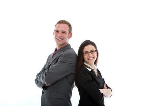Friendly business partnership