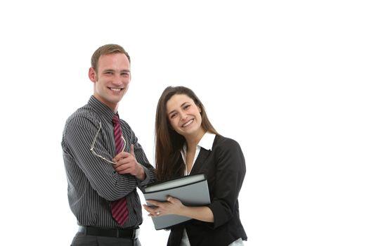 Successful business partnership