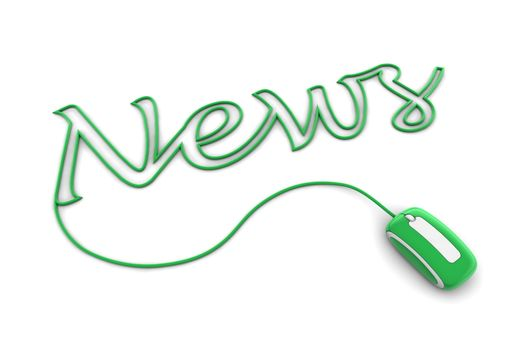 Browse the Shiny Green News Cable