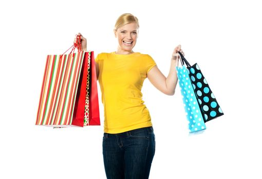 Its shopping time