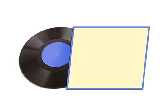 vinyl old lp disc
