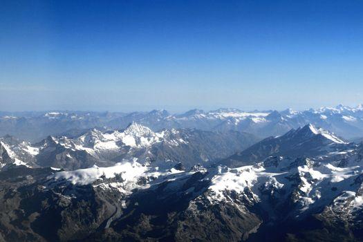 Mountains Alpes lanscape