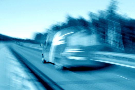speed car transportation