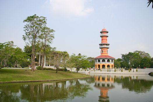 Bang Pa-In Palace at Ayutthaya , Thailand