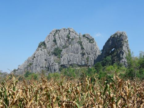 Rock mountain in Thailand