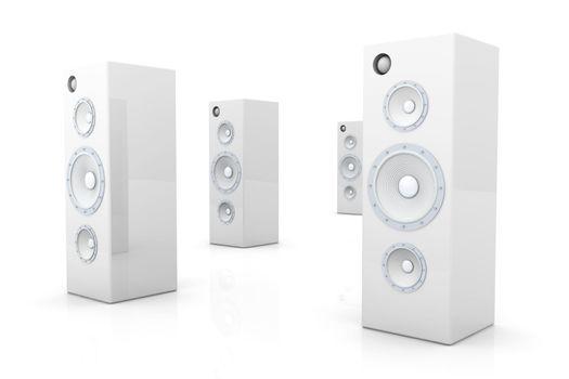 Speakers - Futuristic metal