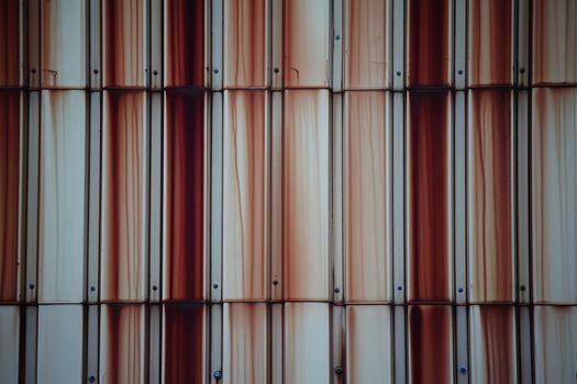 Rusty tin wall