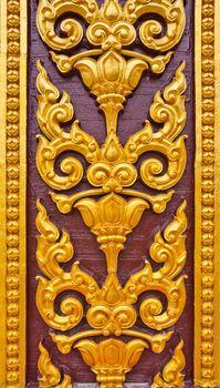 Thai art on a temple wall
