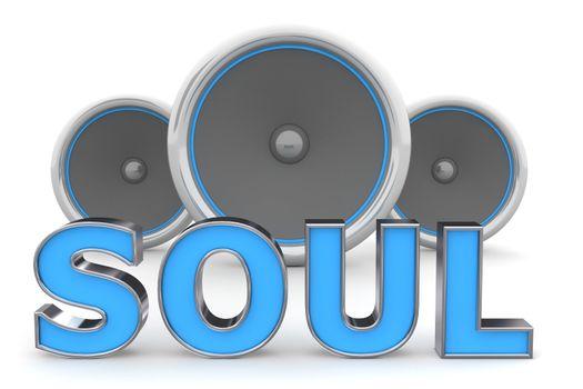 Speakers SOUL � Blue