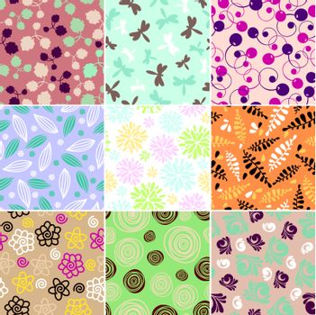 simple seamless patterns