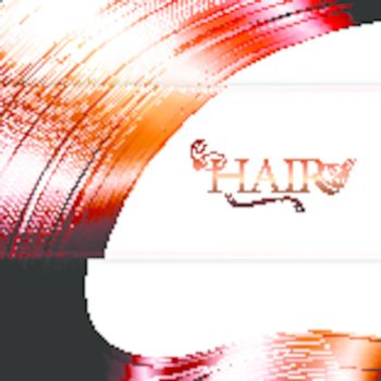Red Hair background with copyspace for your text
