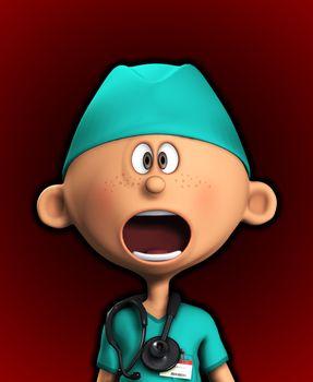 Shocked Surgeon