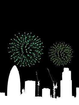 Fireworks Over London