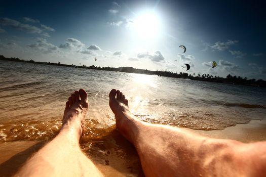 lazy vacation