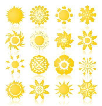 Sun icons2
