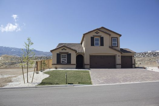 home for sale in under developed community