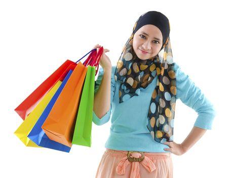 Muslim shopper