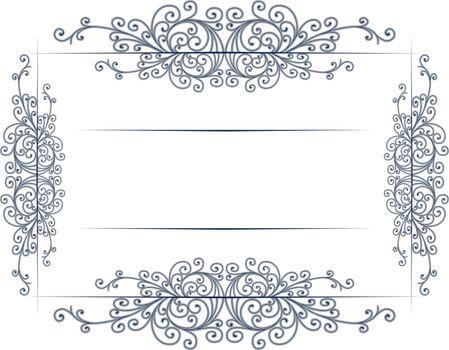 antique vintage lace border