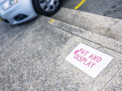 pay and display
