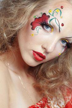 Stylish make-up