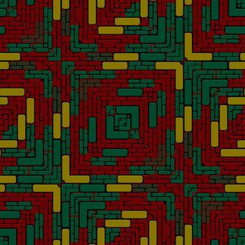 Tiled floor RGB