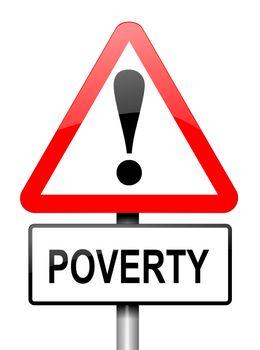 Poverty warning.