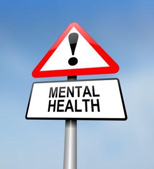 Mental health warning.