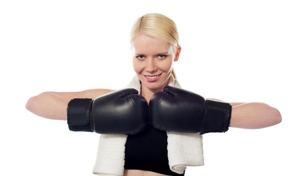 The boxer lady