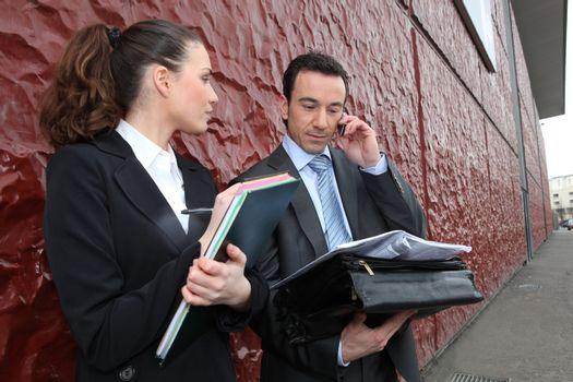 business employees