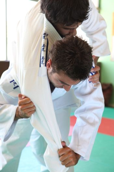 Judo move.