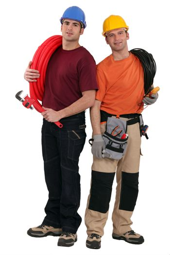 Two electricians tools