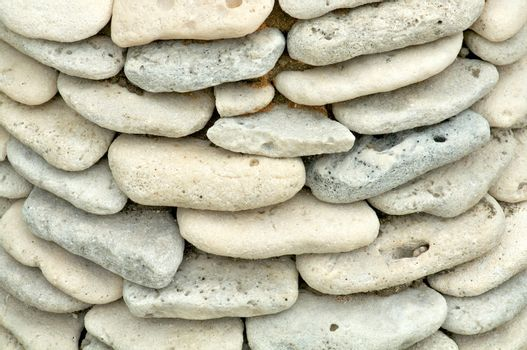 Shore Stones Background