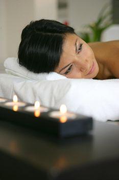Awaiting back massage