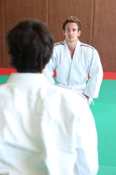 portrait of a judoka