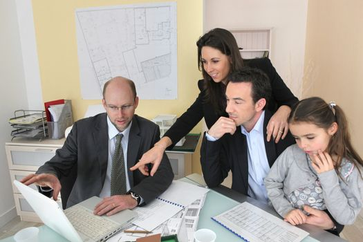 An architectural firm