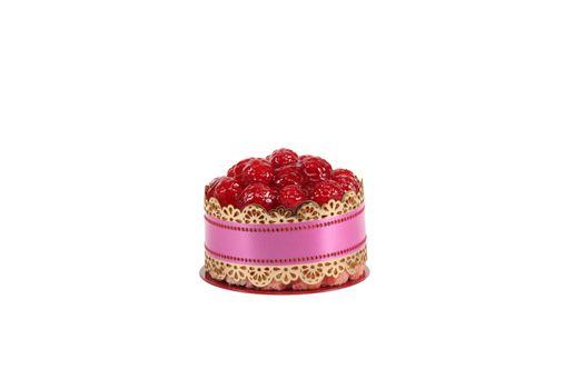 Individual strawberry cake
