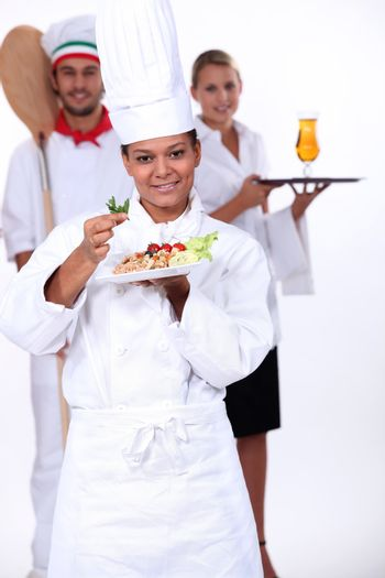 staff of catering sector