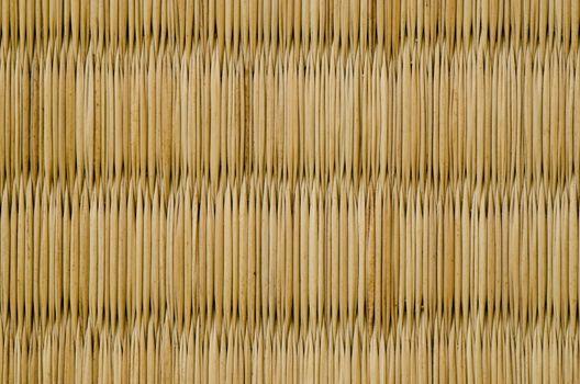 Closeup of a tatami mat
