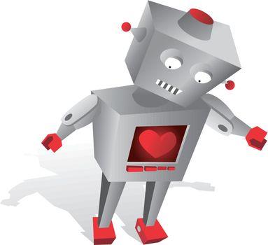 Robot with feelings / Sensible technology