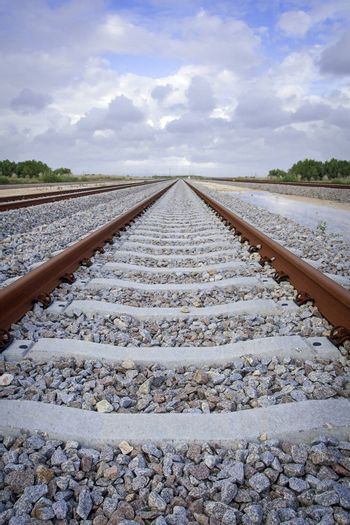 Railroad track with DOF