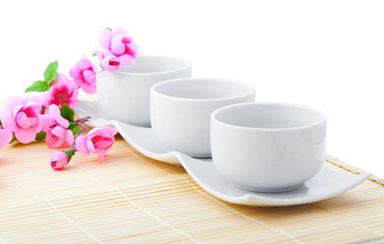 white porcelain bowls for rice