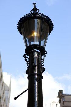 Vintage Methane Ventilating Lamp in London